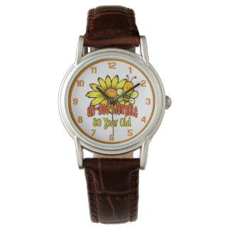 80. Geburtstag - unglaublich bei 80 Jahren alt Armbanduhr