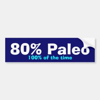 80% Paleo Stoßdämpfer Autoaufkleber