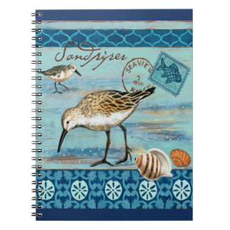 80 Seiten-Notizbuch für Strand-Liebhaber Notizblock
