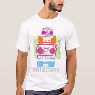 80er BeatBoxer Roboter T-Shirt