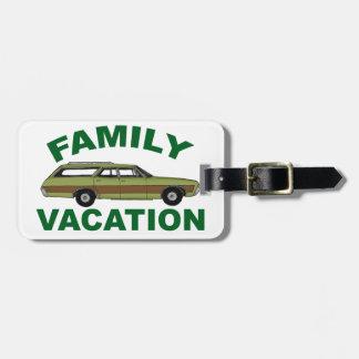 80er Familien-Ferien Kofferanhänger