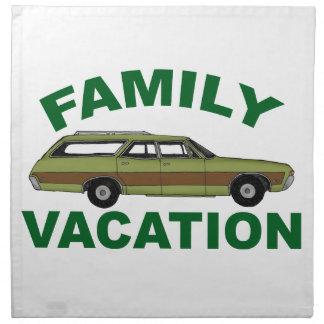 80er Familien-Ferien Serviette