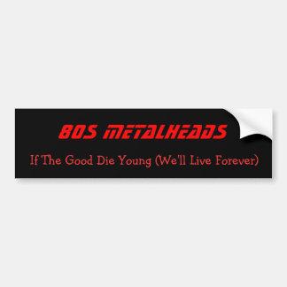 80er Metalheads, wenn das gute Junge die (uns, Autoaufkleber