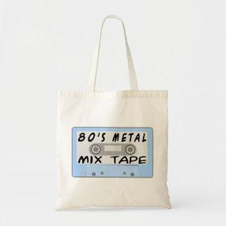 80er Metallmischungs-Kasette Tragetasche