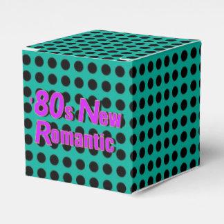 80er neues romantisches geschenkschachtel