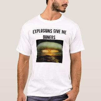 811372, EXPLOSIONEN GEBEN MIR BONERS T-Shirt