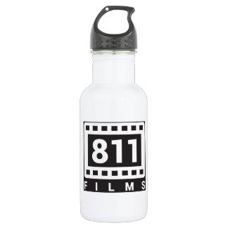 811 Flasche des weißen Wassers des Film-Logos 18oz Edelstahlflasche