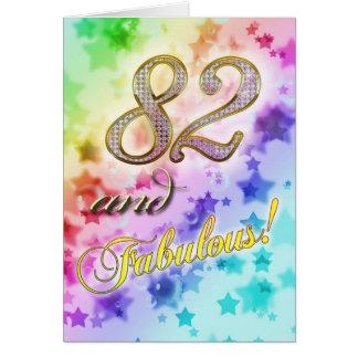 82. Geburtstags-Party Einladung