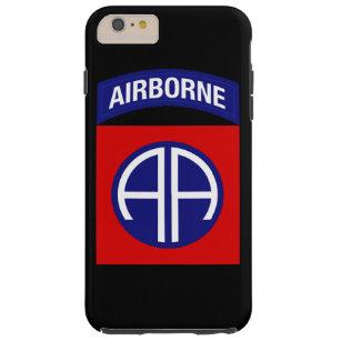 """82. Im Flugzeug Abteilung """"alle amerikanische Tough iPhone 6 Plus Hülle"""
