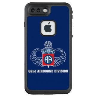 82. Im Flugzeug Abteilungsblaukasten LifeProof FRÄ' iPhone 8 Plus/7 Plus Hülle