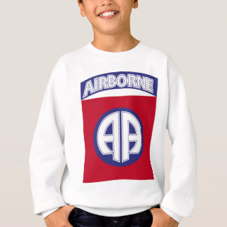 82. im Flugzeug - Kampf-Service-Abzeichen Sweatshirt