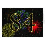 84. Geburtstags-Party Einladung Karten