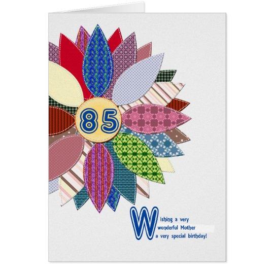 Geburtstag 85 mutter