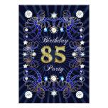 85. Geburtstags-Party laden mit Massen der Juwelen Ankündigung