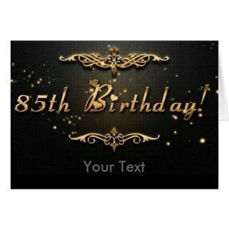 85th Geburtstag! Karte