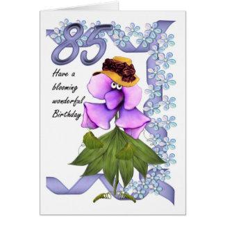 85th Geburtstags-Karte mit Moonies niedlichen Karte