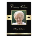 85th Geburtstags-Party Einladung -- Foto 85. 12,7 X 17,8 Cm Einladungskarte