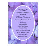85th Geburtstags-Party Einladung -- Hydrangea 12,7 X 17,8 Cm Einladungskarte