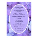 85th Geburtstags-Party EinladungHydrangea 12,7 X 17,8 Cm Einladungskarte