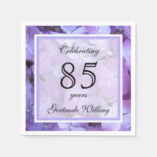 85th Geburtstags-Party-Papierservietten Servietten
