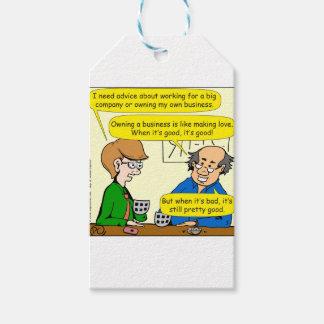879 Ihren eigenen Geschäfts-Cartoon besitzen Geschenkanhänger