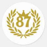 87-real-laurel-crown sticker