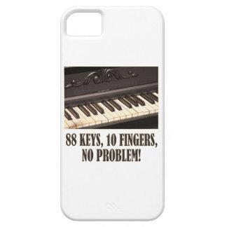 88 Schlüssel, 10 Finger, kein Problem! Barely There iPhone 5 Hülle