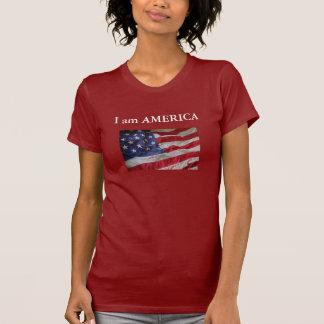 8-28 bin ich AMERIKA T-Shirt