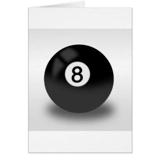 8 Ball - Billard Karte