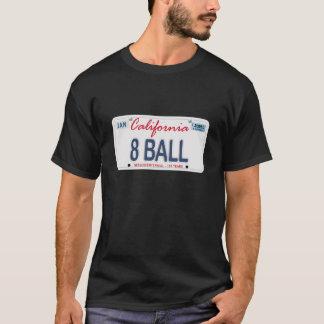 8 Ball-Kfz-Kennzeichen T-Shirt