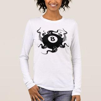 8 BALL-KRAKE LANGARM T-Shirt