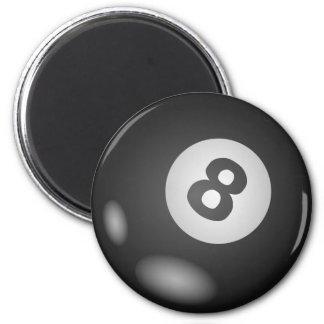 8 Ball-runde Magneten Runder Magnet 5,1 Cm