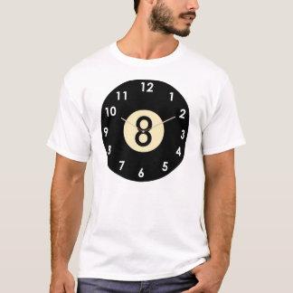 8 Ball-Ziffernblatt T-Shirt