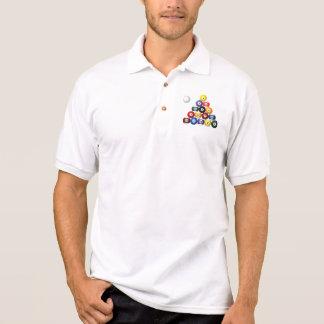 8 Ballgestell-Shirts Polo Shirt