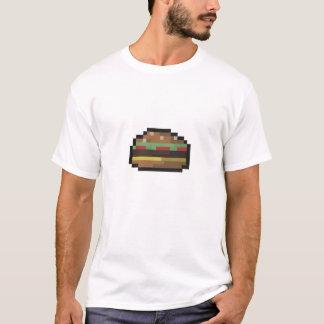 8 Bit-Burger-Shirt T-Shirt