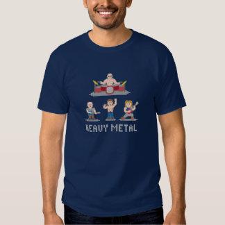 8 Bit-Metallband-T - Shirt