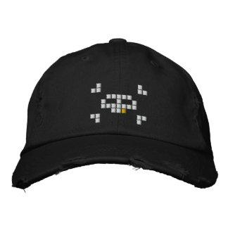 8 Bit-Pirat Bestickte Baseballkappe