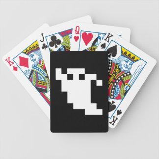 8 Bit-Pixel-Geist Bicycle Spielkarten