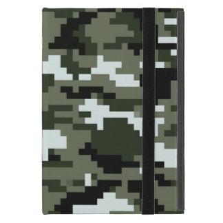 8 Bit-Pixel-städtische Tarnung/Camouflage iPad Mini Etui