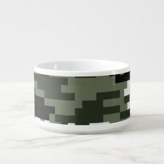 8 Bit-Pixel-städtische Tarnung/Camouflage Schüssel
