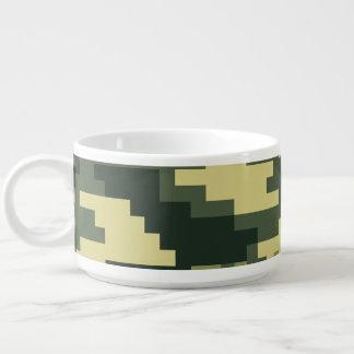 8 Bit-Pixel-Waldtarnung/-Camouflage Schüssel