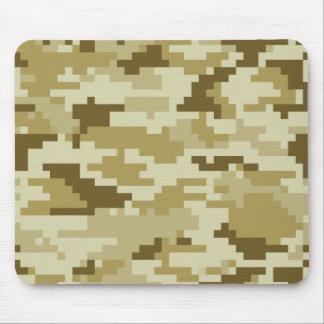 8 Bit-Pixel-Wüsten-Tarnung/Camouflage Mousepad