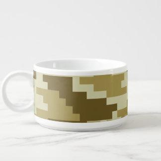 8 Bit-Pixel-Wüsten-Tarnung/Camouflage Schüssel