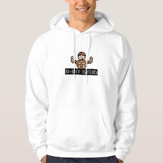 8-Bitbolzen-Kapuzenpulli Hoodie