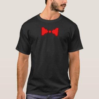 8-Bitpixel-Bogen-Krawatten-T - Shirt