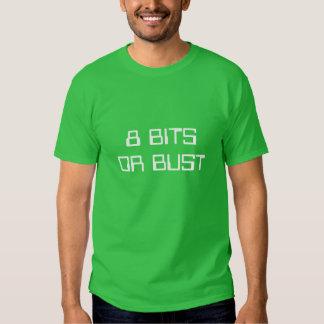 8 Bits oder Fehlschlag T-shirt