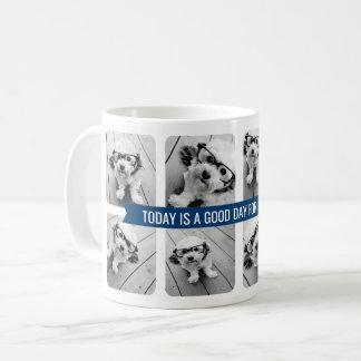 8 Foto-Collage mit kundenspezifischem Tasse