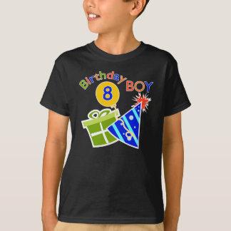 8. Geburtstag - Geburtstags-Junge T-Shirt