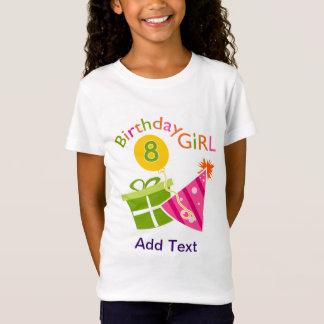 8. Geburtstag - Geburtstags-Mädchen T-Shirt