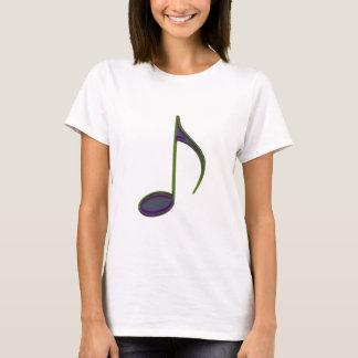 8. Merken Sie großes purpurartiges T-Shirt